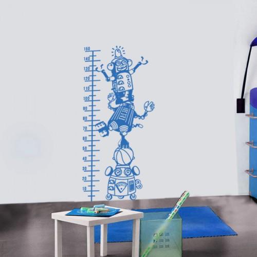 Стикер за стена - Роботи  метър