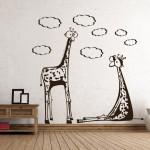Сладки жирафи - стикер за детето