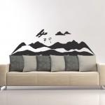 PVC стикери - Парашутисти над планината