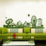 Лунапарк - стикери за стена
