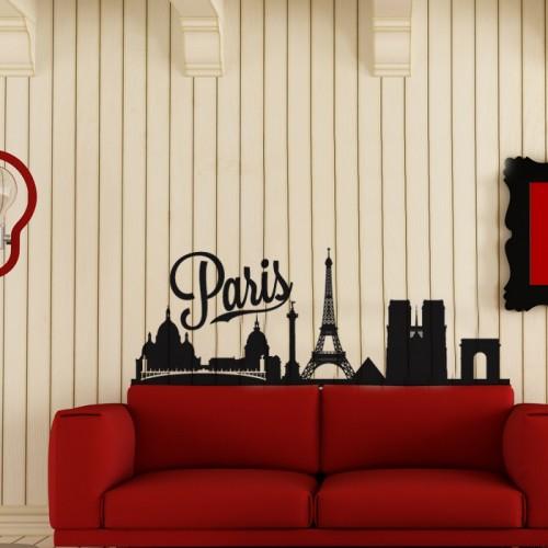 Пейзажни стикери - Париж забележителности